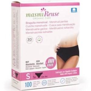 Braga menstrual reutilizable MASMI