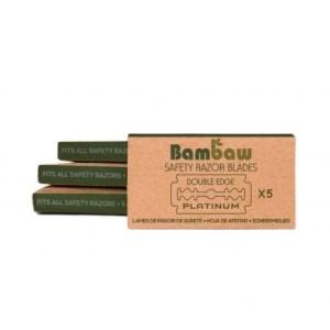Pack de 5 cuchillas de recambio BAMBAW