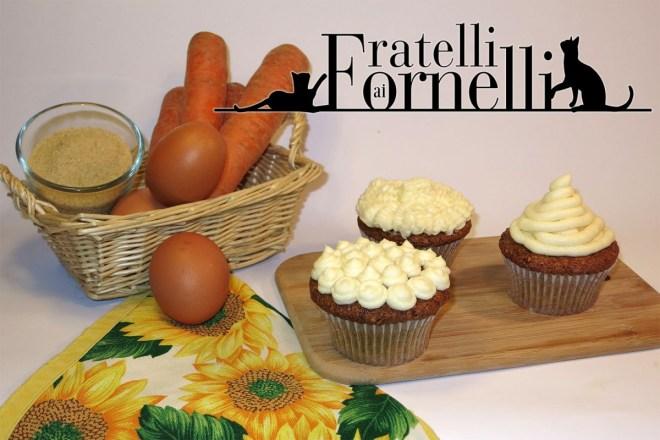 cupcakes carote limone e mandorle