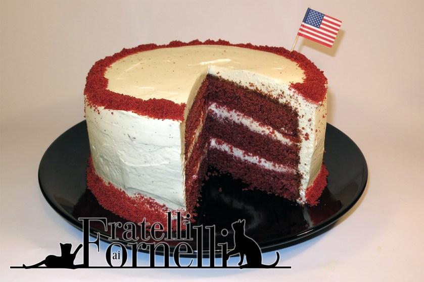 red velvet cacke slice