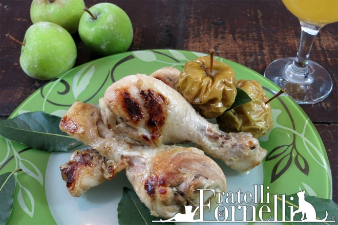 pollo sidro cider chicken