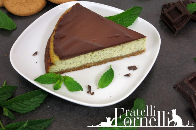 cheesecake menta mint