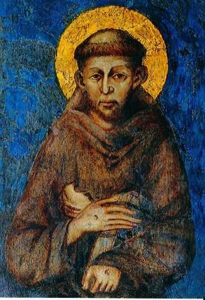 Portrait saint François
