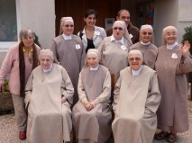 2013 10 06 Les fraternités séculières de la région avec les clarisses de Nieul sur mer (18)