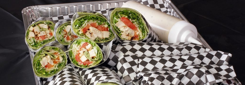 Chicken Parmesan Wrap Catering Package