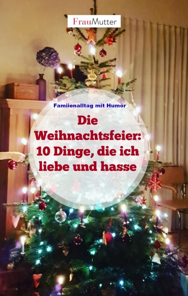 Beitrag Zur Weihnachtsfeier.Die Weihnachtsfeier 10 Dinge Die Ich Liebe Und Hasse