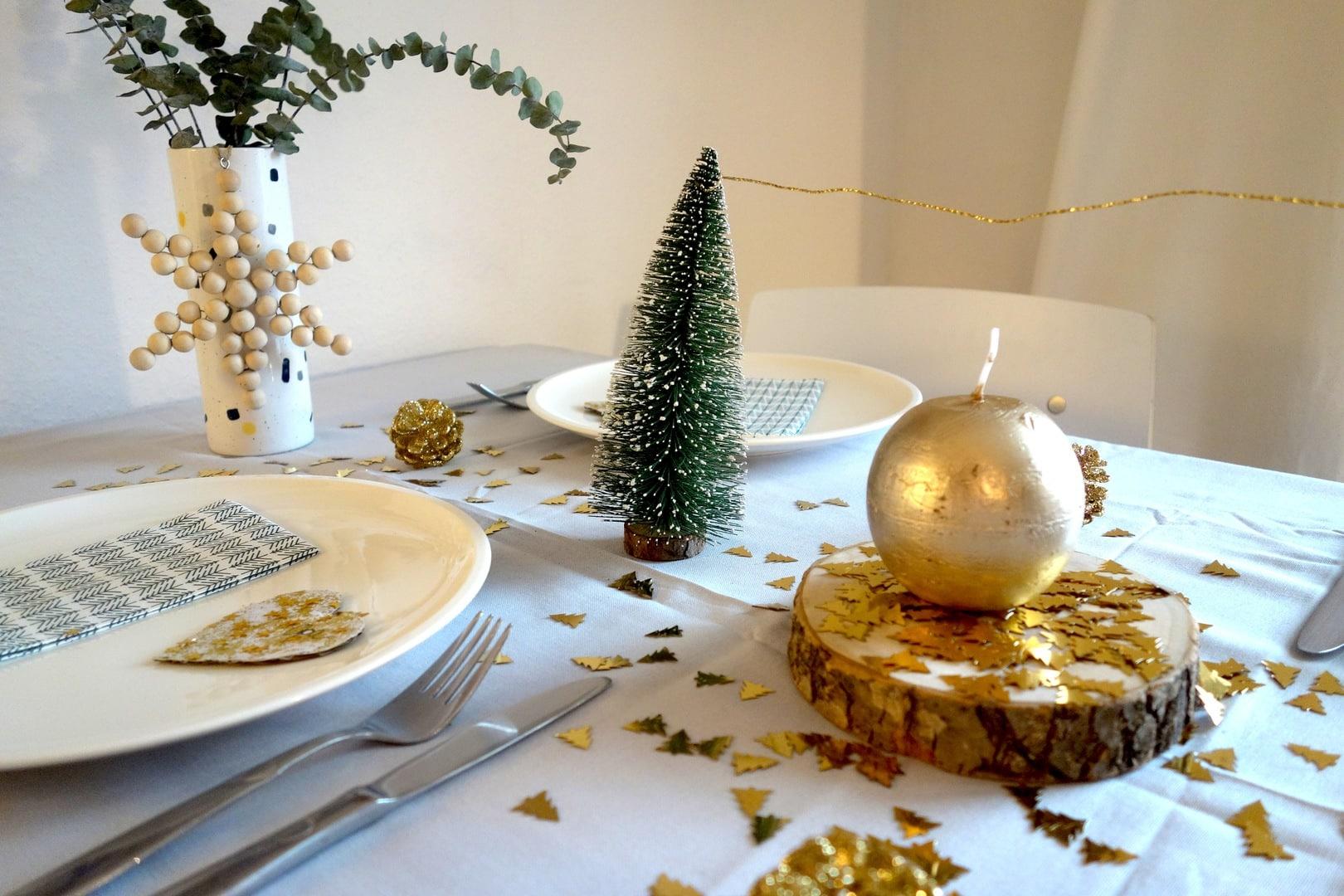 Einfach Aber Schick Weihnachtliche Tischdeko