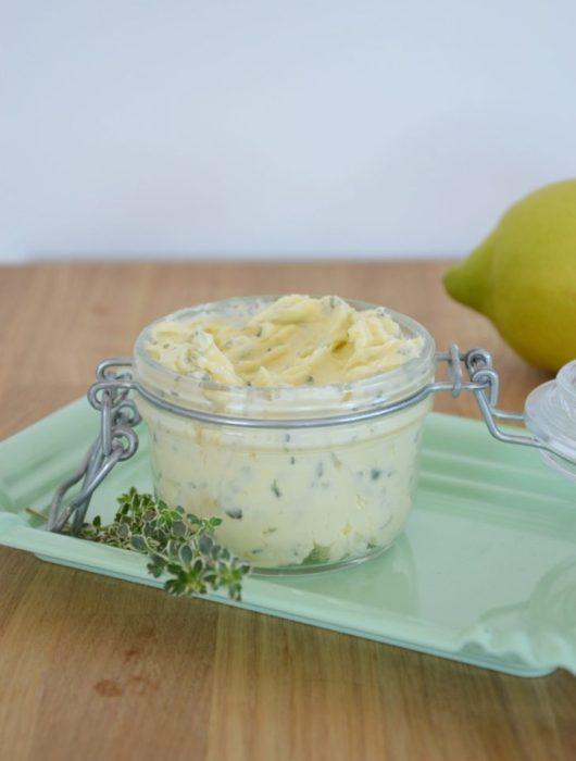 Zitronen-Thymian-Butter