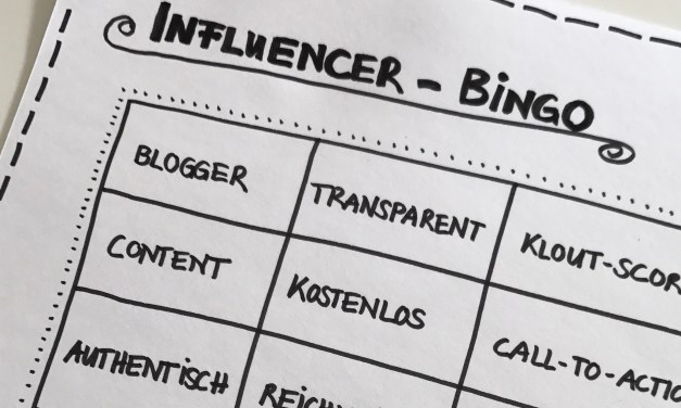 Influencer-Bingo