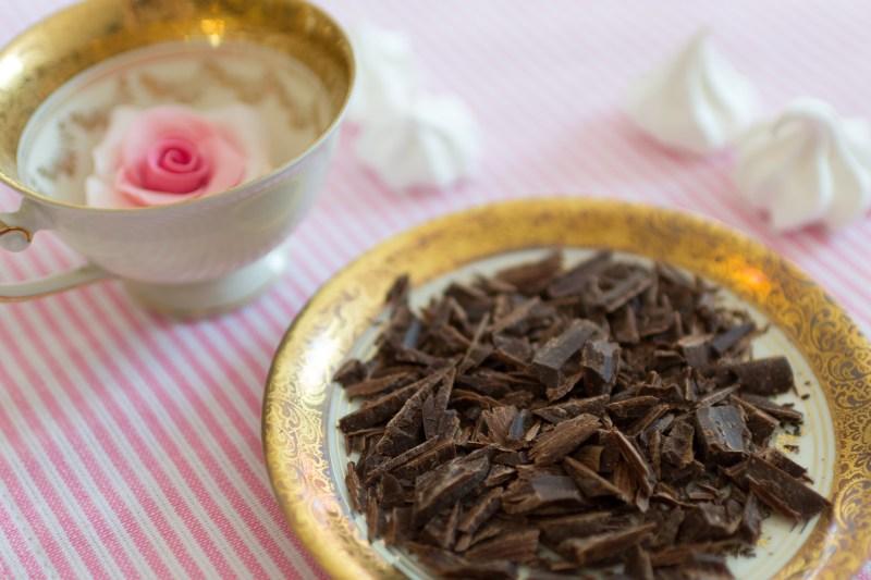 Ganache, Schokolade