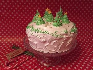 Weihnachtstorte, weihnachtliche Torte