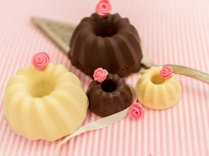Mini Guglhupf, Schokoladen gugl, mini schoko gugl