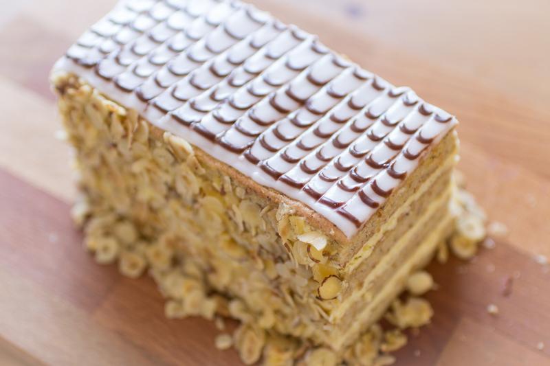 Nusskuchen, Nuss Torte, Esterhazy Kuchen