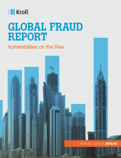 Kroll 2015/2016 Global Fraud Report - FREE Download