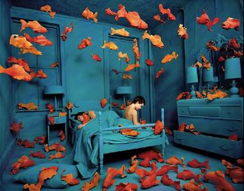 "Sandy Skoglund ""Revenge of the Goldfish"""