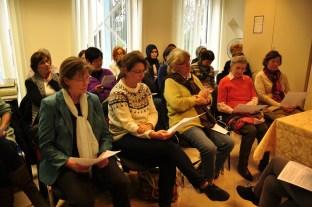 Teilnehmerinnen von Workshop 3: Geld oder Liebe? Foto: Islamisches Zentrum