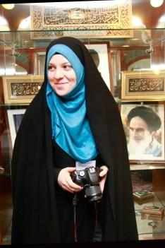 Fotografin des Islamischen Zentrums. Foto: Kathrin Erbe