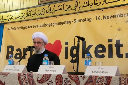 Ayatollah Dr. Reza Ramezani. Foto: Kathrin Erbe