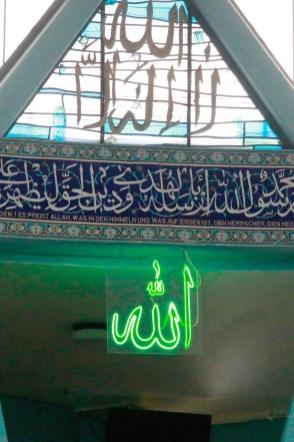Impression aus der Moschee. Foto: Kathrin Erbe