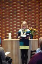 Eva-Maria Schmitz bei der Ökumenischen Andacht