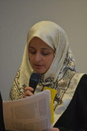 Mahnaz Mashreghi stellt den Workshop 4 vor