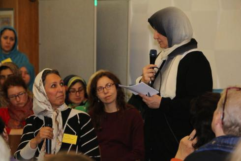 Dr. Marjan Heidarinami u. Fatima Emari
