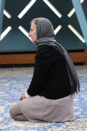 meditierende Frau