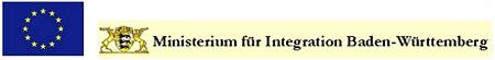 Logo des Europäischen Integrationsfonds und des Ministeriums für Integration Baden-Württemberg