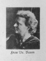 Frau Dr. Baum