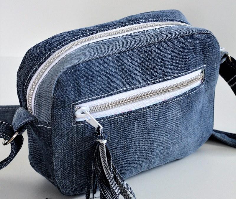 Nähkurs Vorschau und eine Cambag aus einer Jeans
