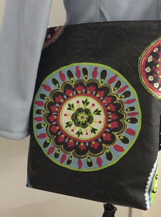 Tasche mit Kreis nähen