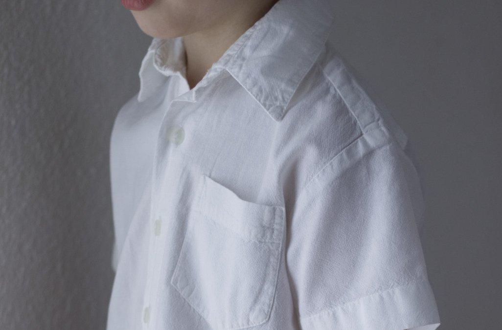 Herrenhemd Upcycling Projekt – ein Kinderhemd nähen
