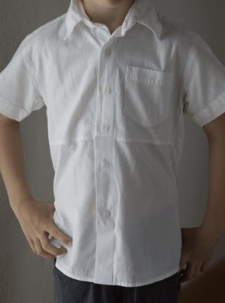 Bluse aus Herrenhemd nähen