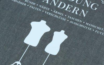 Einfach Kleidung ändern, ein Buch und ein Upcyclingprojekt