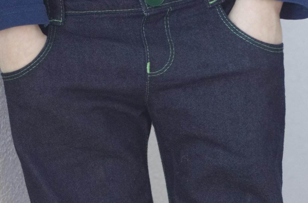 Eine Kinder-Jeans nähen
