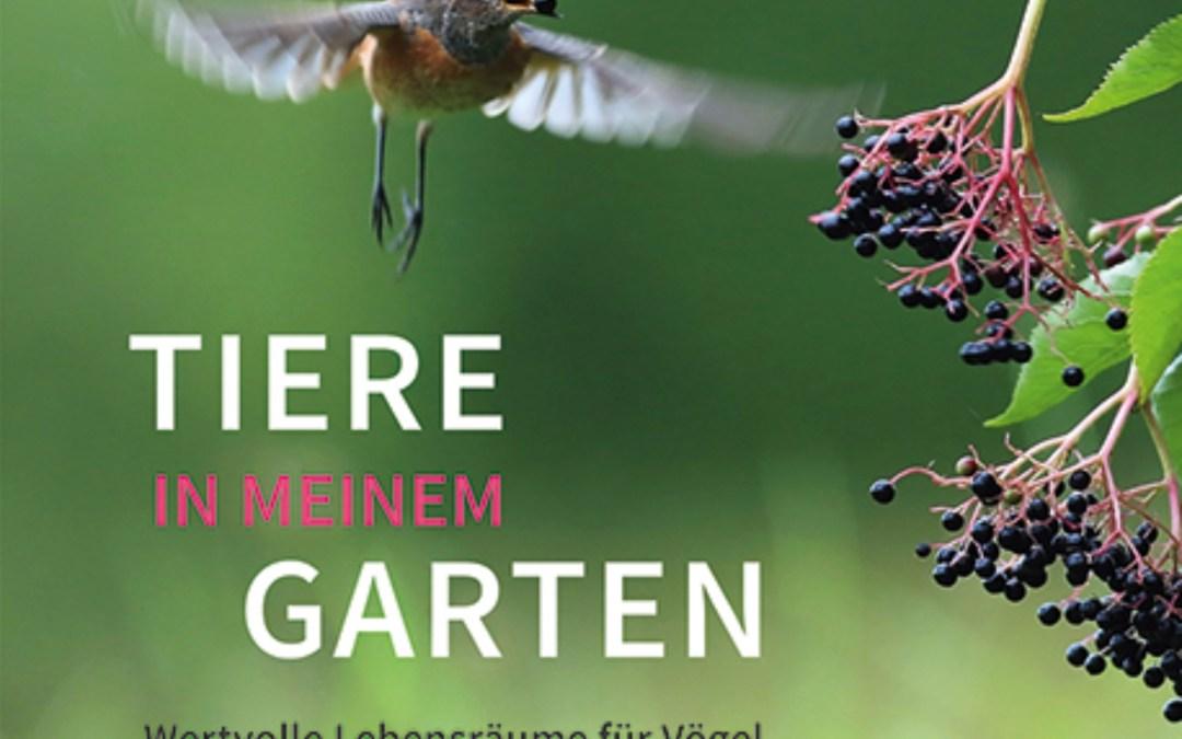 Tiere in meinem Garten – Buchvorstellung