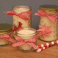 Kleine Geschenkideen zu Weihnachten: Duftkerzen selber machen