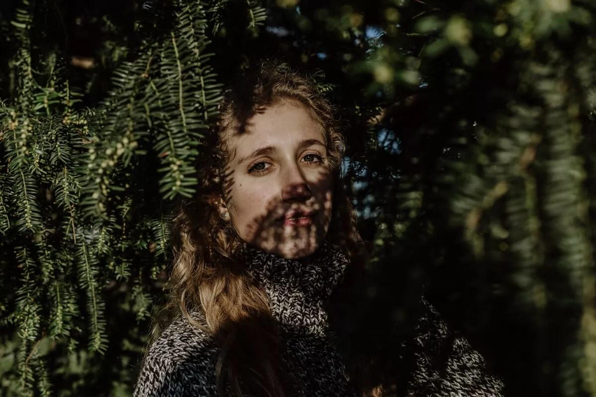 Stimmungsvolles Portraitshooting bei Planten un Blomen im Februar