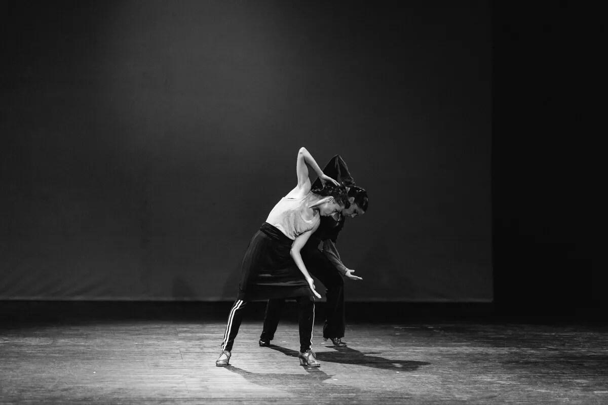 Ausschnitt aus einer Arbeit desVaruma Teatro bei Flamenco Festival Hamburg 2018