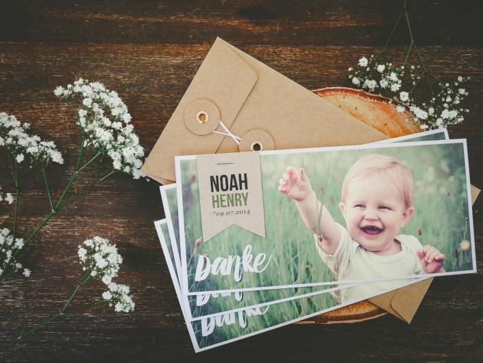 Babykarte für Noah