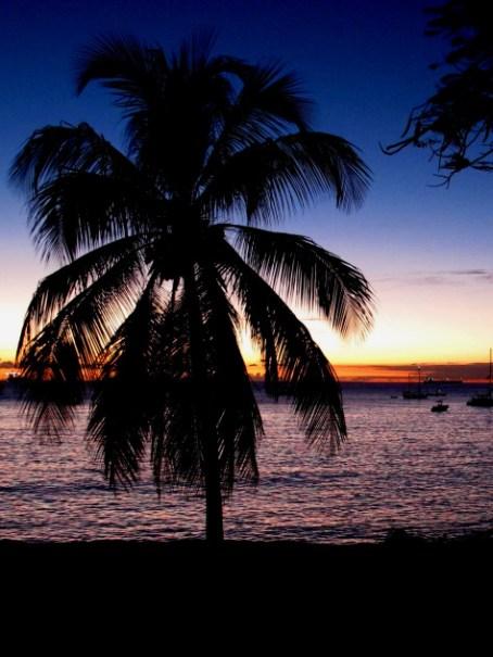 St. Eustatius sunset