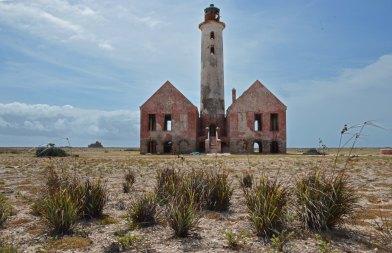lighthouse on Klein Curacao