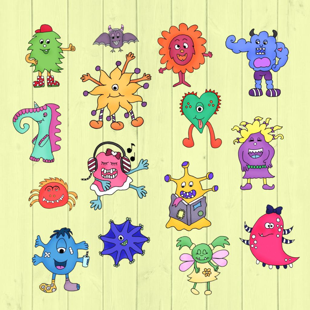 Monster Im Worksheet Crafter