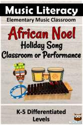 African Noel, Winter Holiday Songs for music class or performance.