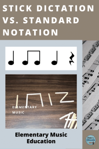 Teaching Young Children to Read Music | Stick Dictation vs. Standard Notation