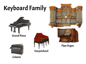 Keyboard instruments