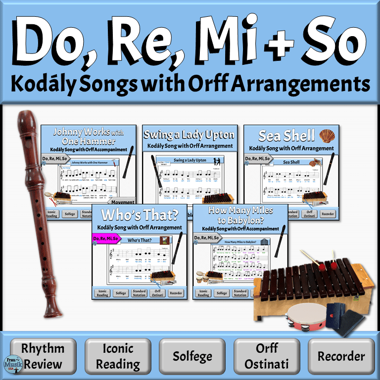 Sequential Lessons for Developing Music Literacy in the Elementary Music Classroom | Do Re Mi So