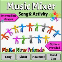 Music Mixer Song & Activity for Intermediate Grades
