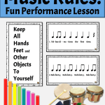 Back to School Activities for Elementary Music Classroom | Learning Rules with Orff Rhythm Patterns