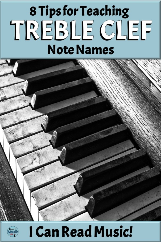 8 Tips for Teaching Treble Clef Note Names in the Elementary Music Classroom